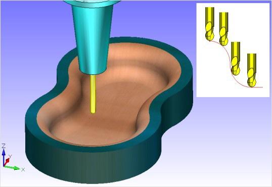 3D cadcam frezen nafrezen Fagor mach3 winpcnc