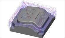 2.5D 2D 3D fanuc cadcam systeem CNC Frezen